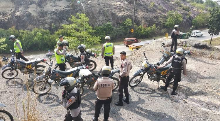 Polisi Cek Informasi Pelemparan Batu ke Pengendara di Bukit Daeng