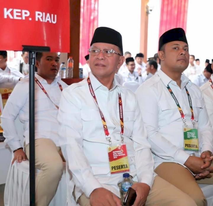 """Ketua DPC Gerindra Batam Sebut Almarhum """"Ayah Syahrul"""" Kader Terbaik Gerindra"""